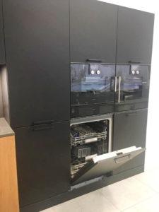 Компактный духовой шкаф/пароварка, шкаф для подогрева посуды, посудомоечная машина - Кухня Eggersmann
