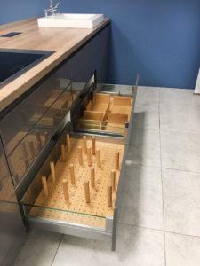 Нижние выдвижные ящики Nobilia Lux
