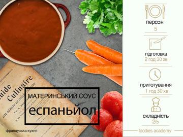 Материнський соус Еспаньйол
